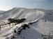 Mam Tor in deep snow from Hollins Cross