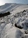 Mam Tor from the path below Hollins Cross under a blanket of deep snow