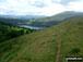 Tor y Foel beyond Talybont Reservoir from the lower slopes of Twyn Du (Waun Rydd)