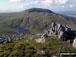 Y Llethr and  Crib-y-rhiw above Llyn Dulyn from Diffwys