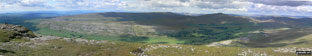 *Whernside and The Howgill Fells from Ingleborough summit