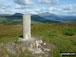 Ben Cruachan from Beinn Lora summit trig point