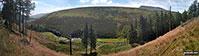 Fairbrook Naze (Kinder Scout) and The River Ashop from Saukin Ridge