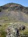 Carreg y Diocyn summit with Arenig Fawr beyond