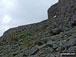 Approaching The Great Slab below Bow Fell (Bowfell)