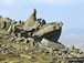 Rock formations on Bow Fell (Bowfell)