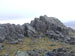 Crags on the summit of Harter Fell (Eskdale)